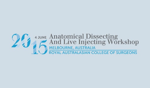 2015 Anatomical Dissecting and Live Injecting Workshop